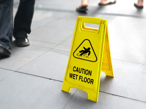 Steps for preventing slip and fall accidents